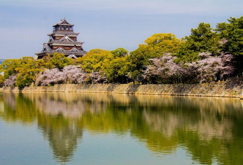 Hiroshima Castle in Hiroshima royalty free stock photos