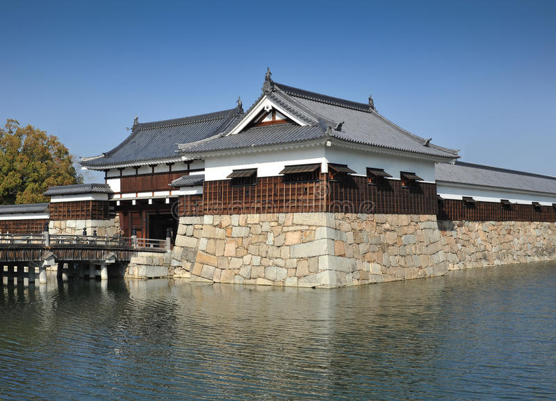 Download Hiroshima Castle Moat Royalty Free Stock Photography - Image: 19201687