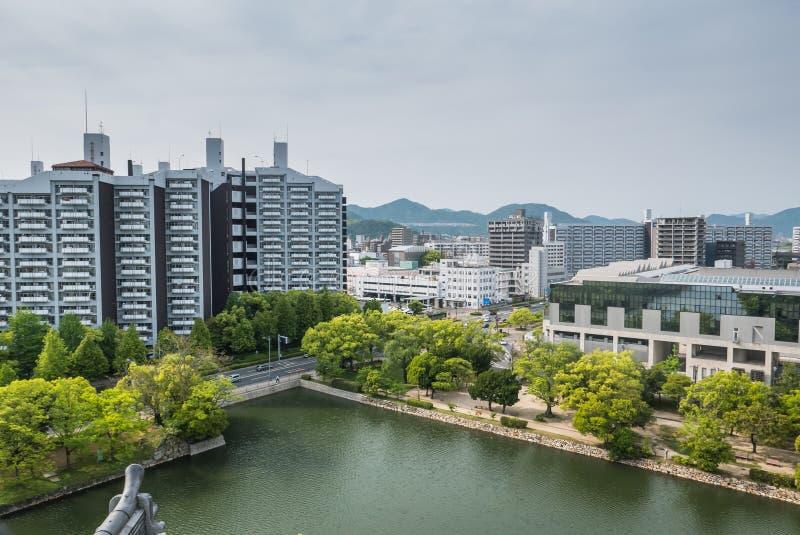 Hiroshima cityscape stock photography