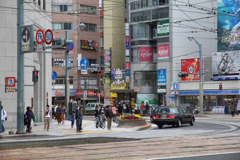 Hiroshima, Japão imagens de stock royalty free