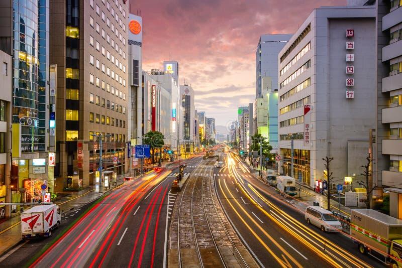 Hiroshima, Japan Cityscape stock images