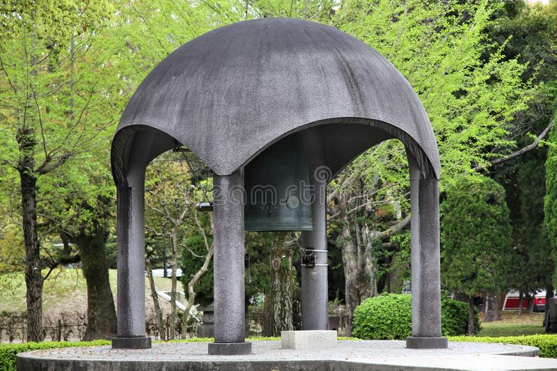 Download Hiroshima peace bell stock photo. Image of asian, monument - 30770924
