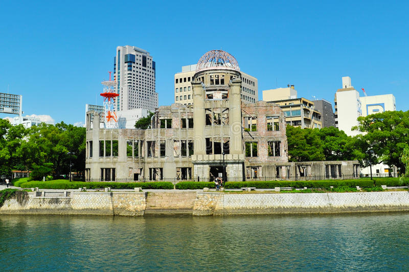Download Hiroshima Peace Memorial stock image. Image of dome, hiroshima - 27259037