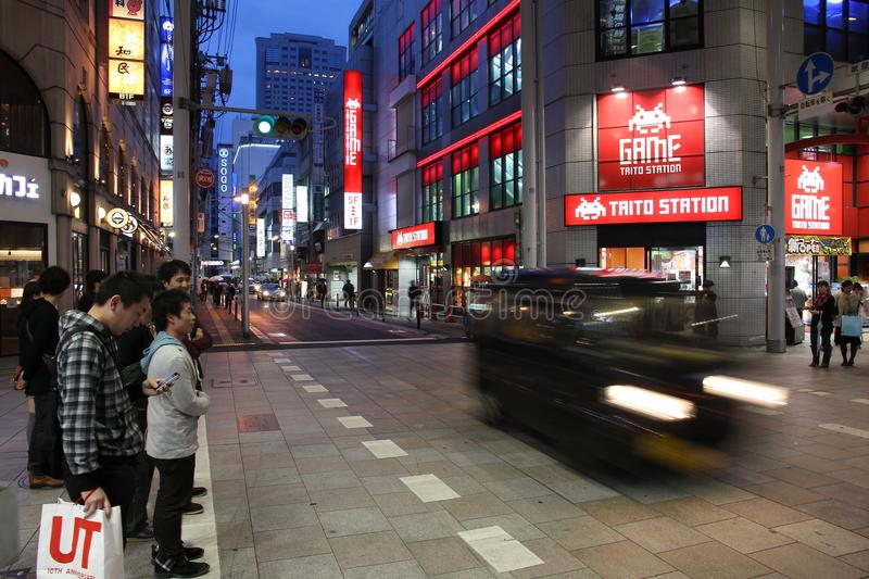 Download Hiroshima shopping editorial stock image. Image of outlet - 28447484