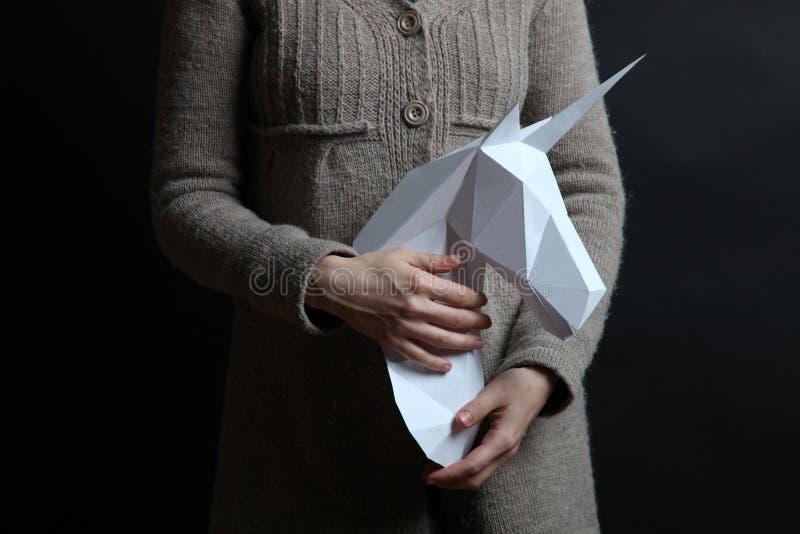 Hirsekorn eines Einhorns lizenzfreies stockbild