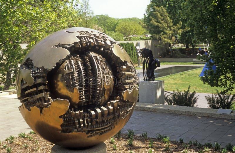 Hirshhorn Sculpture Garden in Washington DC royalty free stock images