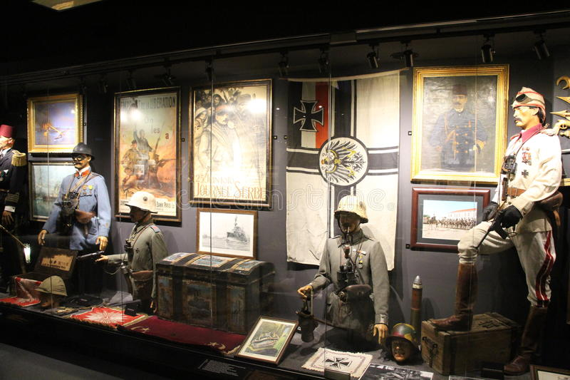 Hisart, mondo primo e soltanto diorama vivente del museo di storia immagini stock