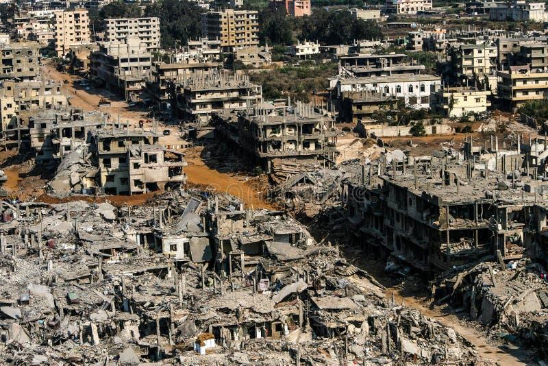Hisbollah- und Israel-Krieg im Jahre 2006 stockfotografie