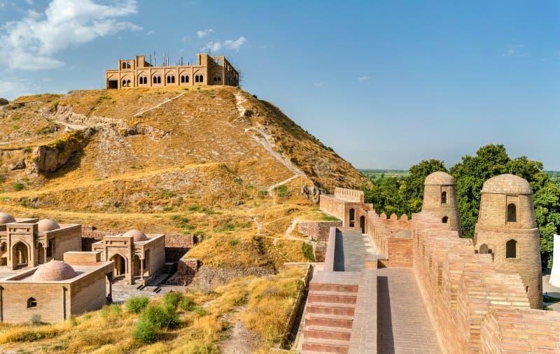 Hisor-Festung auf Tadschikistan lizenzfreie stockfotos