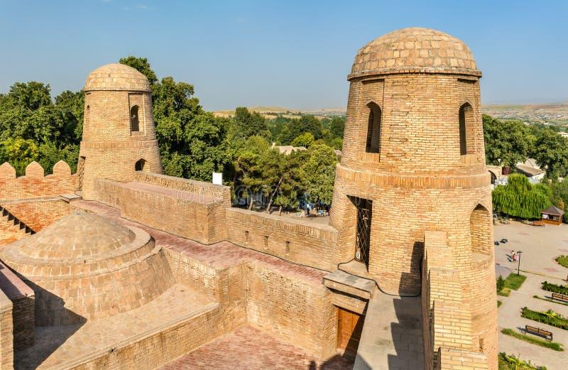 Hisor-Festung auf Tadschikistan stockbild
