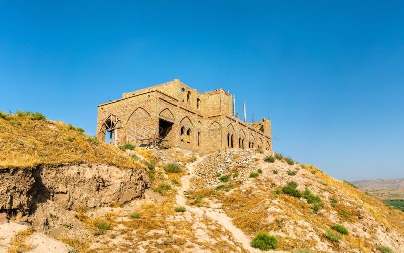 Hisor-Festung auf Tadschikistan stockfotos