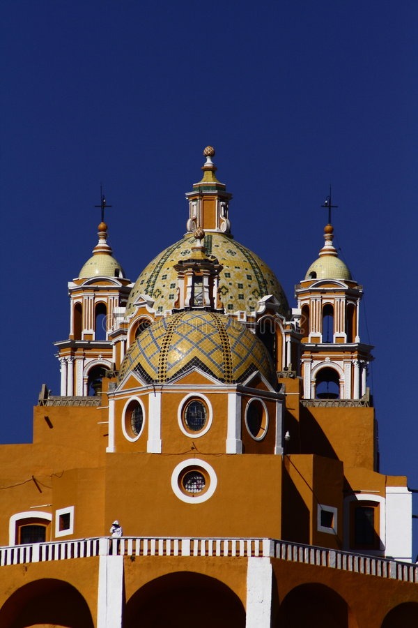Hispanic architecture stock photo image of cupolas for Most successful architectural firms