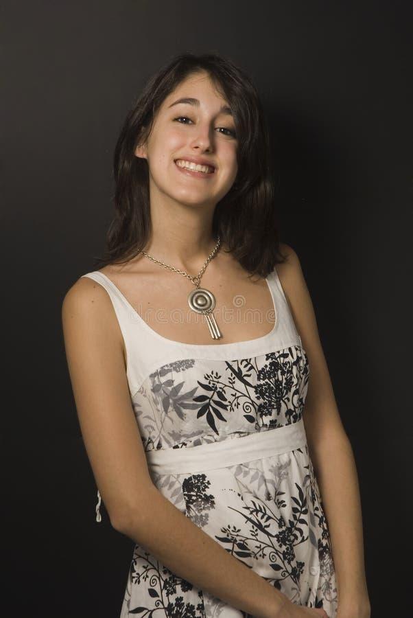 Hispanic beautiful girl stock image