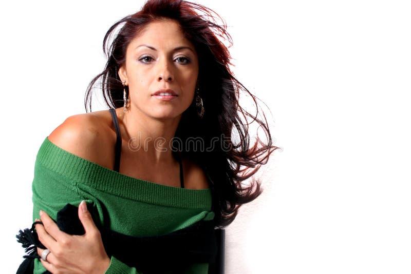 Hispanic Beauty stock image