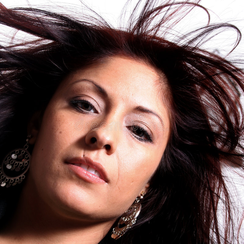Hispanic Beauty stock photography