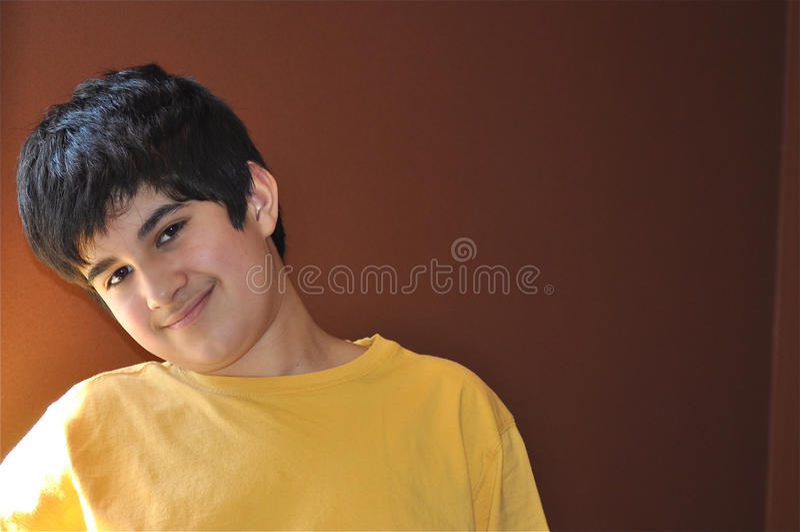Hispanic Boy stock image