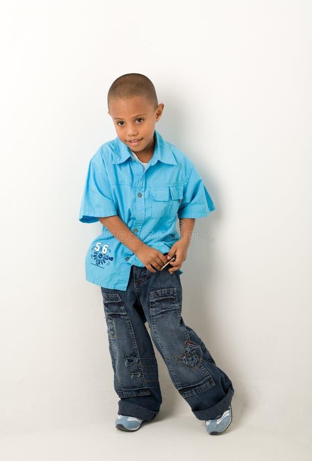 Hispanic boy 8 stock image