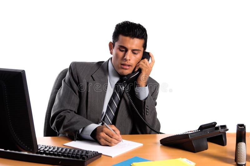 Hispanic Business Man royalty free stock photos