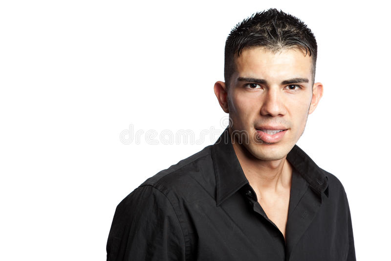 Hispanic businessman royalty free stock image