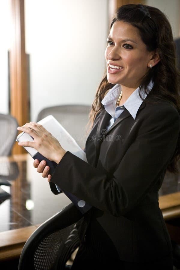 Hispanic businesswoman stock photography
