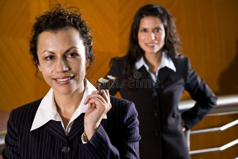 Hispanic businesswomen stock photo