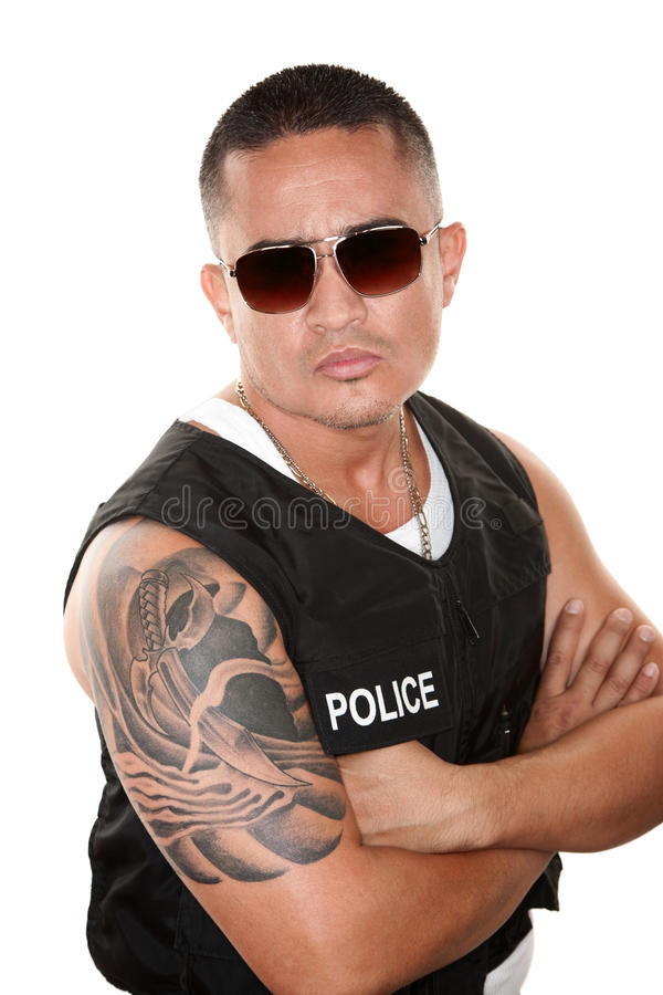Download Hispanic Cop stock photo. Image of undercover, security - 13125318