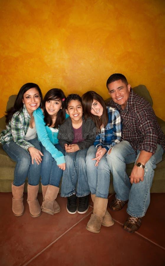 Hispanic family stock photos