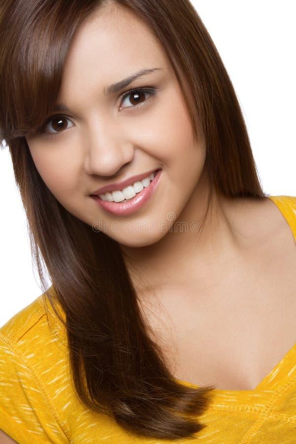 Hispanic Girl. Beautiful smiling young hispanic girl stock image