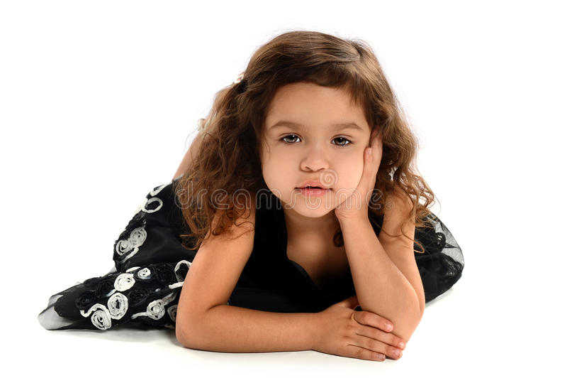 Hispanic Girl royalty free stock photos