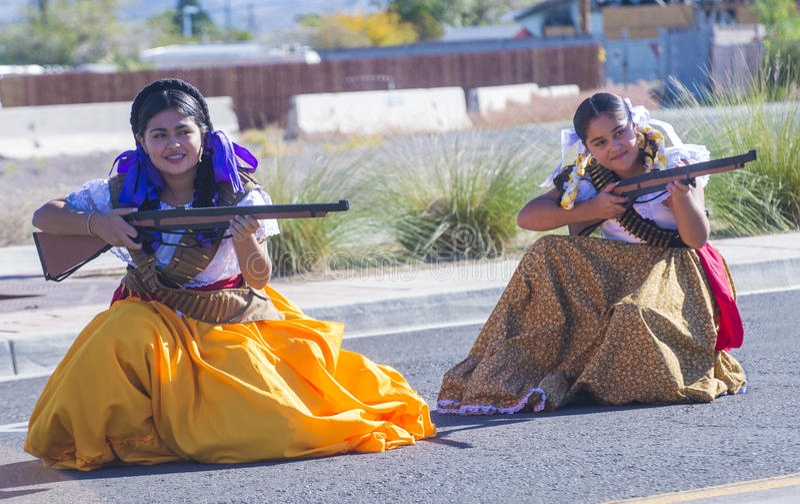 Hispanic International Day Parade stock photos