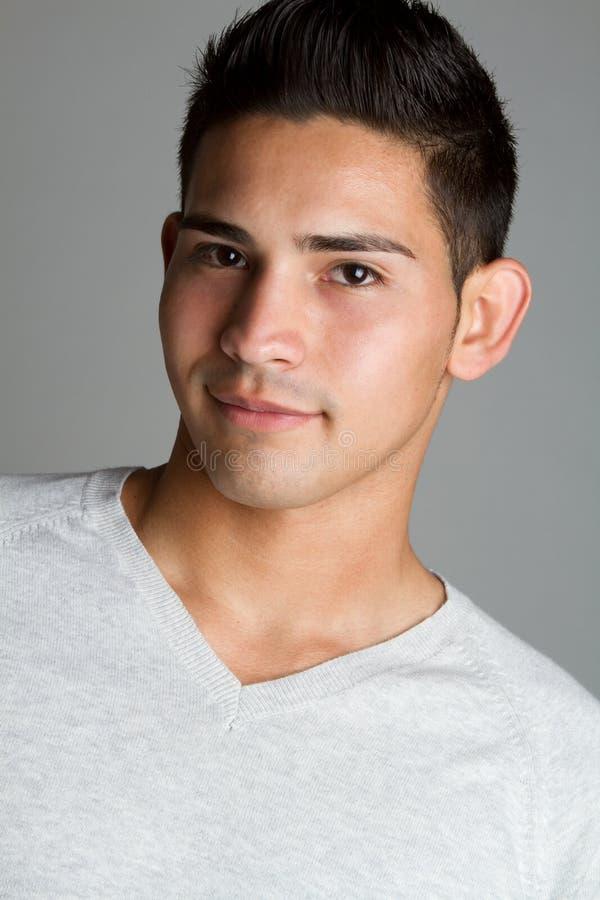 Hispanic Man. Portrait of smiling hispanic man stock images