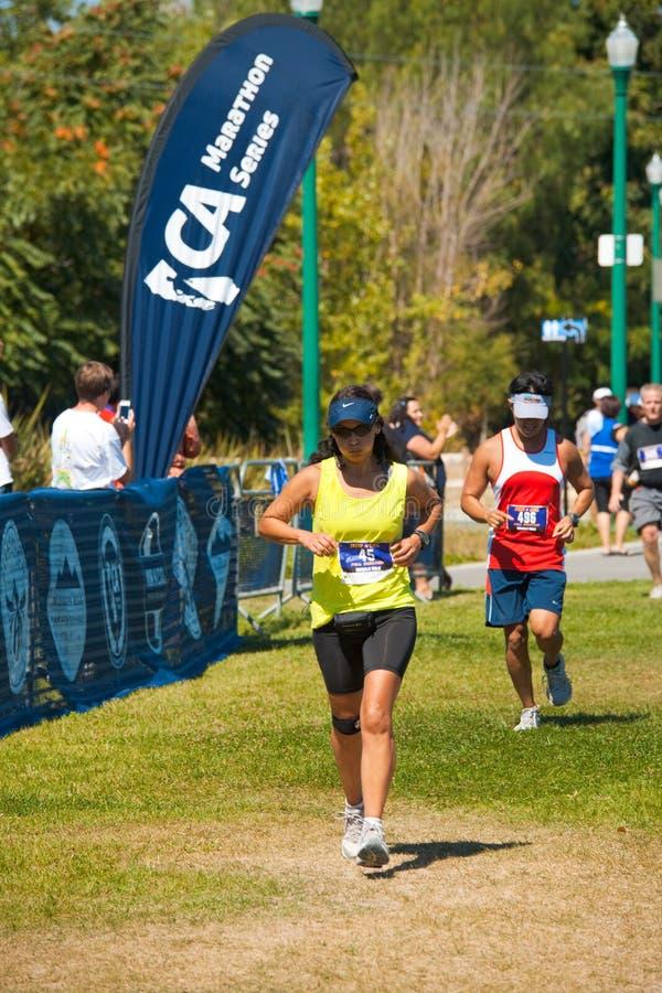 Hispanic Norcal Marathon Runner Editorial Image