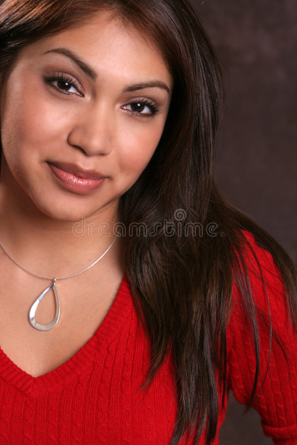 Download Hispanic Red 1 stock photo. Image of portrait, jewelry - 334706