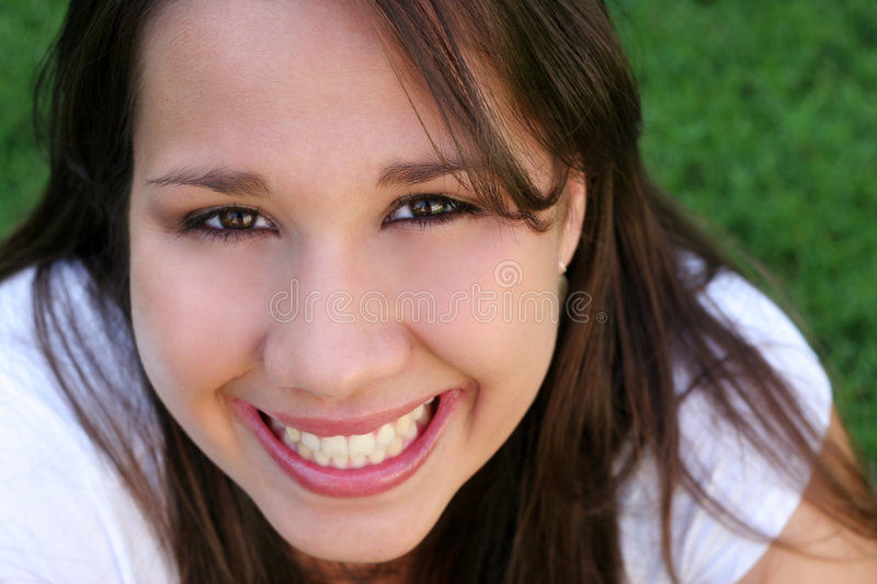 Hispanic Woman stock image