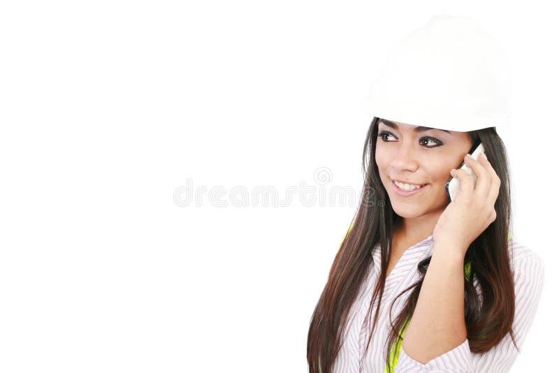 Download Hispanic woman architect stock image. Image of plans - 25896903