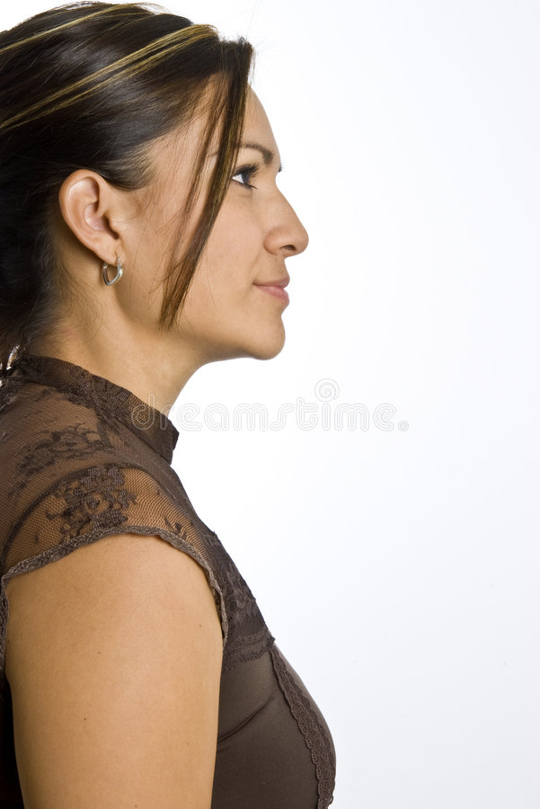 Hispanische Frau stockfotografie