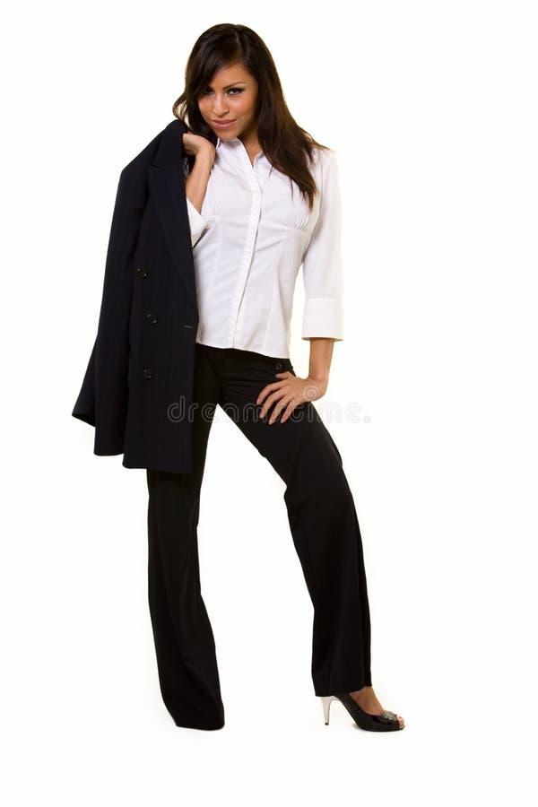 Hispanische Geschäftsfrau stockfotografie