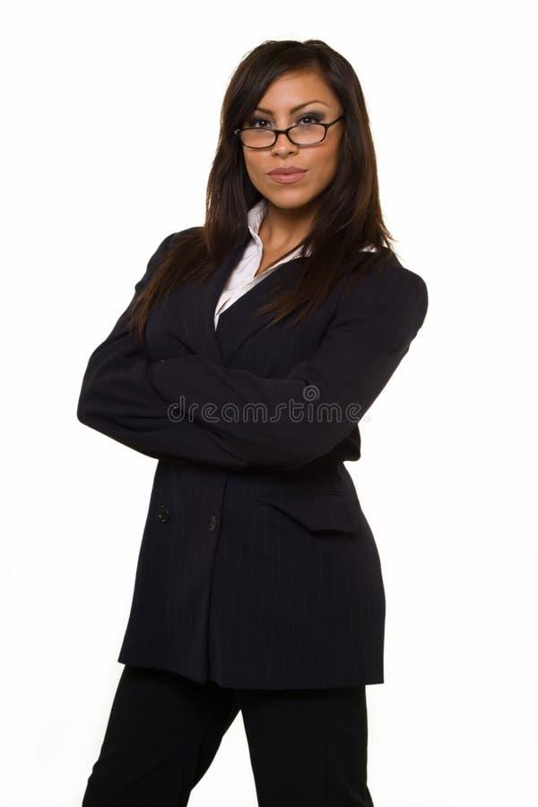 Hispanische Geschäftsfrau lizenzfreie stockbilder