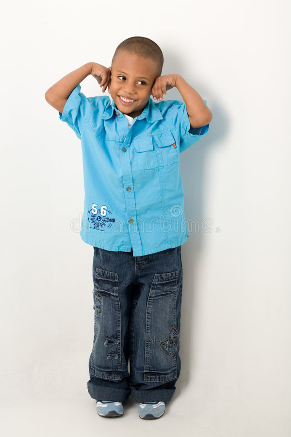 Hispanischer Junge 5 lizenzfreie stockbilder