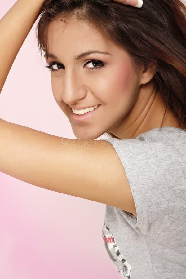 Hispanisches Jugendlichmädchen stockfoto