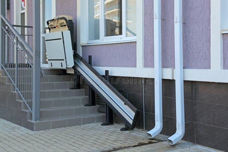 Hiss för handikappade personer royaltyfria foton