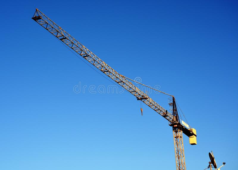 hiss på blå himmel arkivfoto