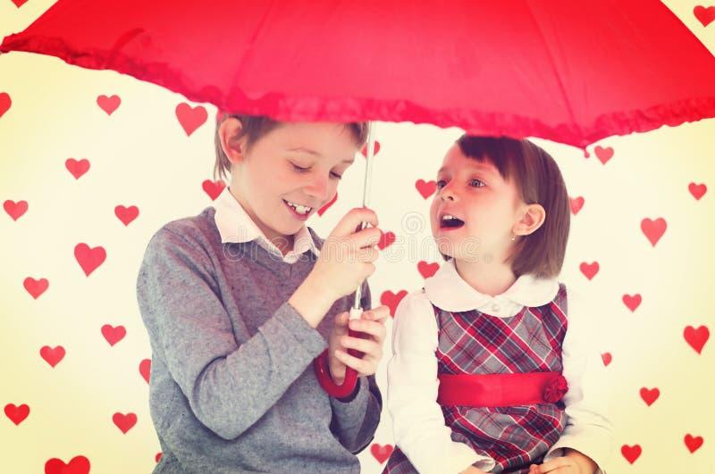 História de amor imagens de stock royalty free