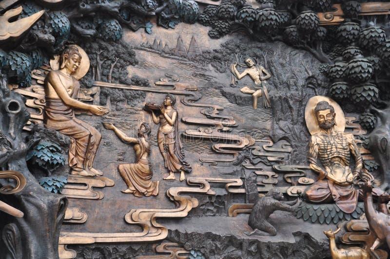História de Buddha imagens de stock