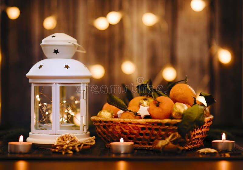 História do ano novo e do Natal imagem de stock royalty free