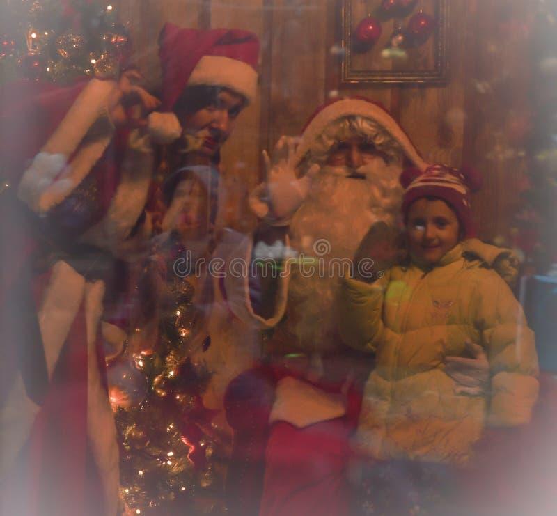 História do Natal fotos de stock royalty free