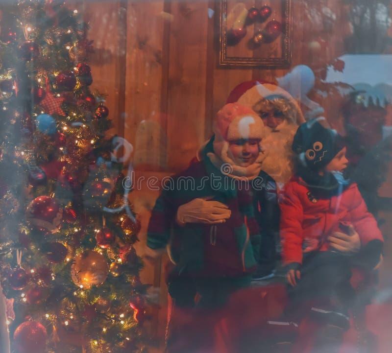 História do Natal foto de stock royalty free