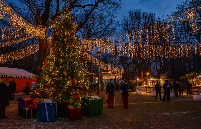 História do Natal imagem de stock royalty free