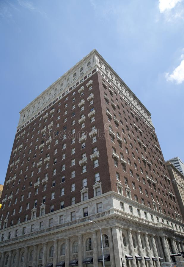 Histoire construisant l'hôtel de MAYO dans la ville Tulsa l'Oklahoma Etats-Unis photo libre de droits