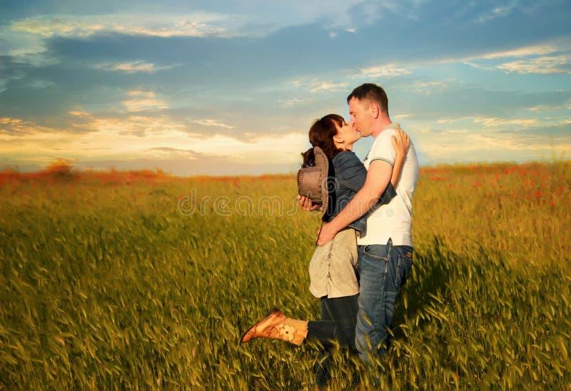 Histoire d'amour image libre de droits
